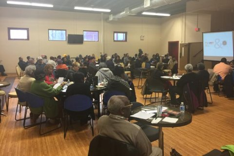 Hill District organizations demonstrate major collaboration with strong community support.
