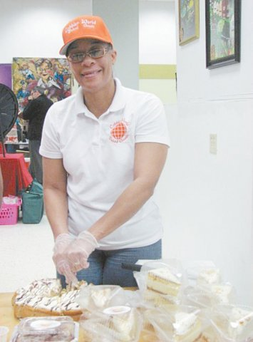 TEACHING BY EXAMPLE—Terina Hicks of Cobbler World Baked Goods will share her experience May 13 during a round table discussion on product distribution.